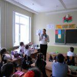 Беседы с учащимися о добродетели чистоты речи и грехе сквернословия прошли в нескольких школах г. Слонима
