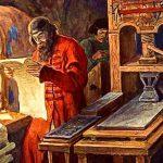 В музее книги Национальной библиотеки Беларуси прошли открытые уроки по истории православного книгопечатания