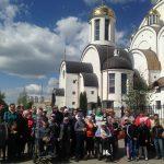 Окончание учебного года для воспитанников Солигорского ЦКОИР ознаменовалось участием в Божественной литургии