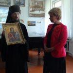 Гостевой урок в столичной гимназии посетил Преосвященный Вениамин