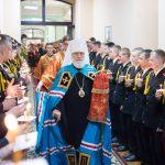 Митрополит Павел совершил Божественную Литургию в домовом храме Минского Суворовского военного училища