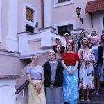 Учащиеся Минского государственного художественного колледжа имени А.К. Глебова» прошли пленэрную практику в Минской духовной семинарии