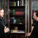 Руководитель Информационной службы Синодального ОРОиК Русской Православной Церкви выступил с лекцией в Минской духовной академии