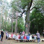 Детский туристический лагерь расположился в местечке Проща Светлогорского района