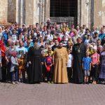 Около двухсот велосипедистов приняли участие в  Крестном ходе в Туровской епархии