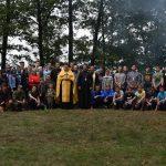 В Новогрудской епархии состоялось открытие православного молодежного слета, посвященного 100-летию трагической гибели Царственных страстотерпцев