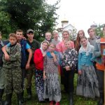 При Свято-Ксениевском монастыре работает ежегодный палаточный летний лагерь