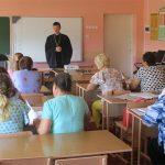 Вопросы сотрудничества с Православной Церковью обсудили на собрании заместителей директоров по воспитательной работе школ Кореличского района