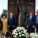 В честь 60-летия города Солигорска состоялось освящение скульптурного изображения святой великомученицы Варвары