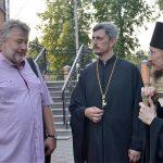 Борисов посетил праправнук основателя Юльевской церкви-школы