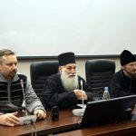 Белорусский государственный медицинский университет посетил иеромонах Ефрем со Святой горы Афон