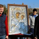 Жители Несвижа почтили день иконы Божией Матери «Одигитрия Ксенофонтская» торжественным крестным ходом
