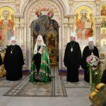 Слово Святейшего Патриарха Московского и всея Руси Кирилла после освящения Всехсвятского храма в Минске