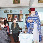 Открытый урок по Литургике для воспитанников воскресной школы провел настоятель Покровского храма города Кировска