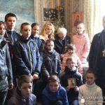 Ребята из молодежного братства посетили ветерана Великой Отечественной войны