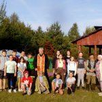 В Ошмянском благочинии открылся летний оздоровительный палаточный лагерь «Радость»