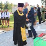 У братской могилы в поселке Гудогай завершилась республиканская акция памяти «Во славу общей Победы!»