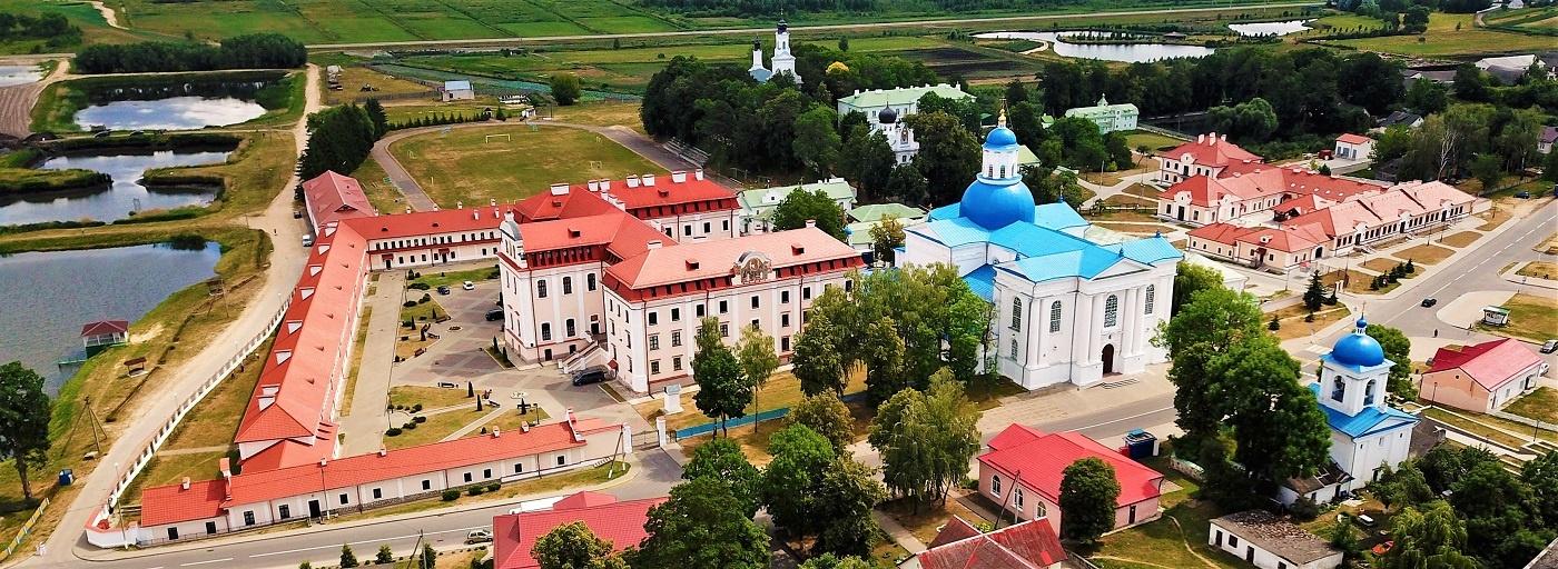 Манастырскі комплекс у вёсцы Жыровічы.