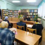 Час вопросов и ответов в Лидской епархиальной библиотеке