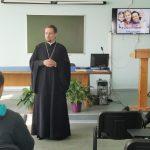 Священник провел беседу со студентами Института правоведения о законах семейного благополучия