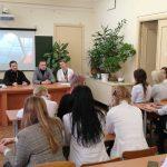 Синодальный отдел по делам молодежи Белорусской Православной Церкви провел круглый стол в БГМУ