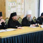 Епископ Борисовский и Марьиногорский Вениамин принял участие в семинаре для руководителей ОРОиК Русской Православной Церкви