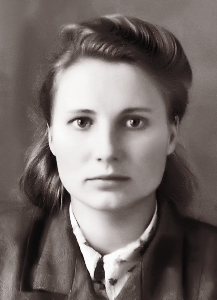 Аляксандра Міхайлаўна Статкевіч. 1944 г.