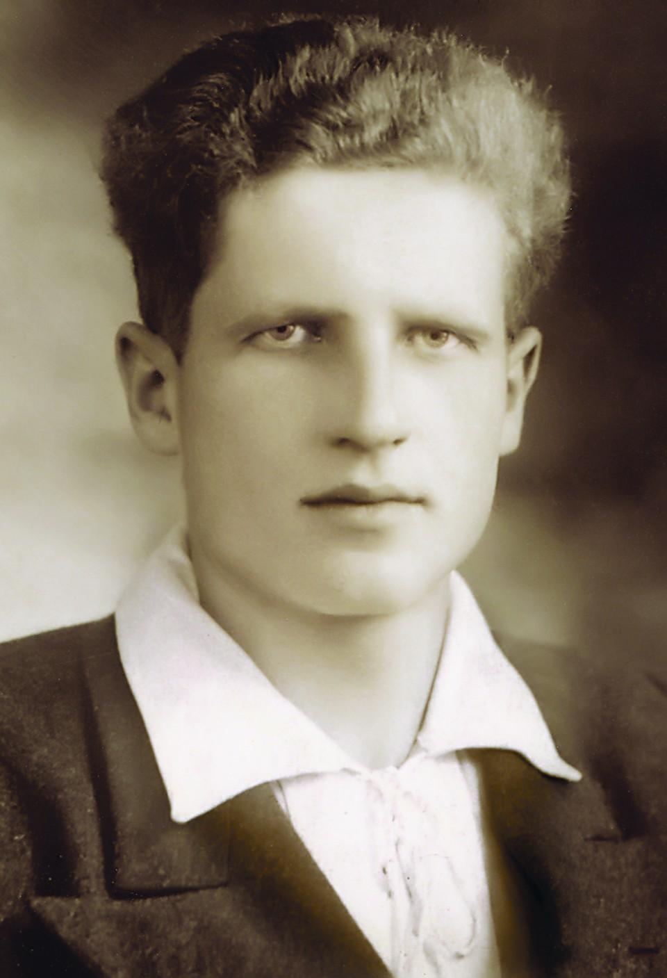 Віктар Міхайлавіч Статкевіч. 1950 г.