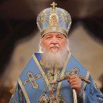 Святейший Патриарх Московский и всея Руси Кирилл поздравил митрополита Филарета с 85-летием