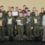 «Русский Архистратиг Александр Суворов»: час истории в Полоцком кадетском училище