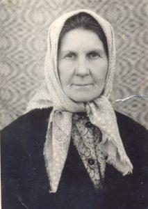 Арына Адамаўна Шахновіч, матуля салдата.