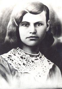 Ганна Канстанцінаўна Янучок. 1939 г.