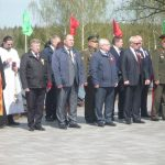 Капсулы с землей из мест воинских захоронений всех районов Витебской области доставлены в Минск
