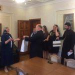 Епископ Полоцкий и Глубокский Игнатий поздравил с юбилеем руководителя епархиального ОРОиК