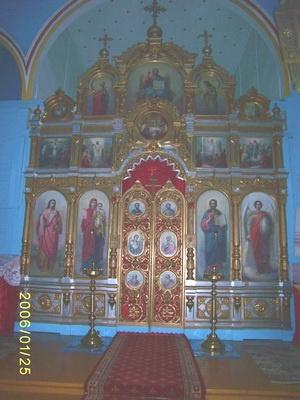 Іканастас Свята-Успенскага храма. 2011 г.