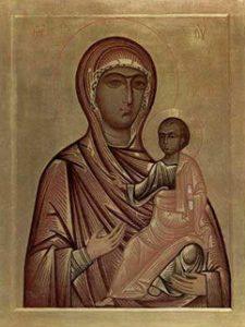 Маці Божая Адзігітрыя Полацкая, XII ст.
