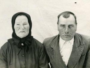 Марыя Лявонцьеўна і Пётр Васільевіч Шаблоўскія.
