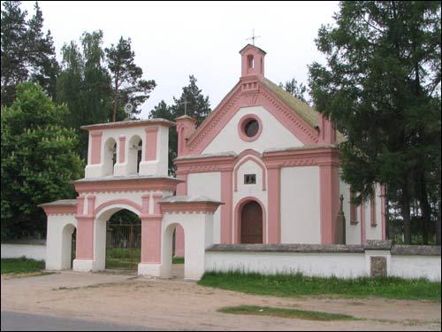 Капліца Святой Ганны. Фота Сяргея Кандратовіча.