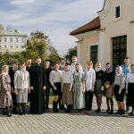 Представители минского молодежного движения «AGIOS» посетили Свято-Успенский Жировичский монастырь