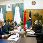 Состоялась встреча Патриаршего Экзарха всея Беларуси с ректором БГУ