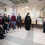 В Гомельском университете открылась фотовыставка, посвященная святому благоверному Александру Невскому