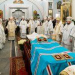 Предстоятель Белорусской Православной Церкви совершил Литургию и отпевание новопреставленного митрополита Филарета