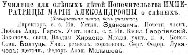 """З """"Памятнай кніжкі Мінскай губерні"""" на 1915 год."""