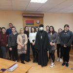 Час духовного общения прошел в Жлобинском профессионально-техническом колледже