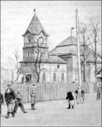 Царква ў вёсцы Языль. 1896 г.