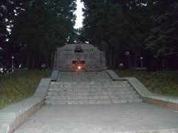 Мемарыял у Масюкоўшчыне.