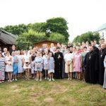 Митрополит Вениамин посетил VI слет молодежи Слуцкой епархии «Соль земли»