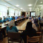 Участники Республиканской акции «Восстановление святынь Беларуси» потрудились в Полоцком монастыре