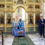 Патриарший Экзарх совершил молебен перед началом нового учебного года