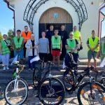 Завершился молодежный велопробег в честь явления Божией Матери в Августовских лесах